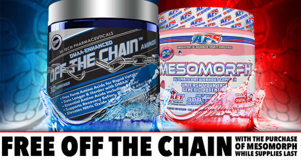 APS Mesomorph and Off The chain promo