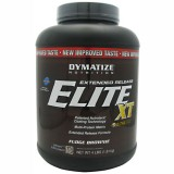 Dymatize Elite Extended Release XT protein - 4lb  Fudge Brownie