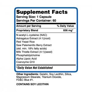 Transform Supplements Liver Support 60 caps