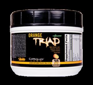Controlled Labs Orange Triad Plus Greens 30sv