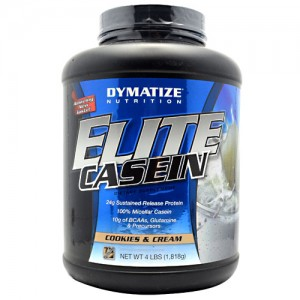 Dymatize Elite Casein Cookies and Cream 4lb