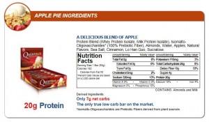 Quest Nutrition - Quest Bar 12pack Apple Pie