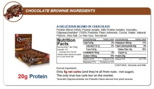 Quest Nutrition - Quest Bar 12pack Chocolate Brownie
