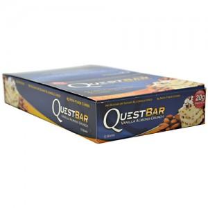 Quest Nutrition - Quest Bar 12pack Vanilla Almond Crunch