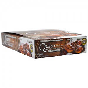 Quest Nutrition - Quest Bar 12pack Cinnamon Roll