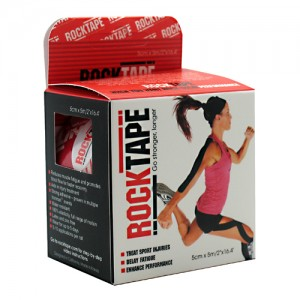 Rocktape Red Logo  - 1 Roll - 2in x 16.4ft