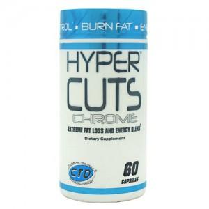 CTD Labs Hyper Cuts Chrome 60 caps