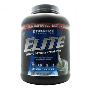 Dymatize Elite 100% Whey - 5lb Gourmet Vanilla