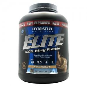 Dymatize Elite 100% Whey - 5lb Cafe Mocha