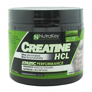 Nutrakey Creatine HCL 125sv Unflavored