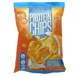 Quest Chips - 8 Pack Cheddar and Sour Cream