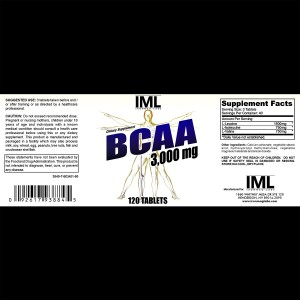Ironmaglabs BCAAs 120 Caps