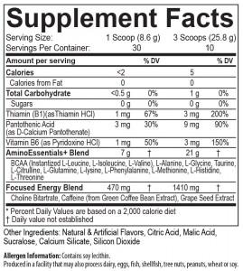 USP Labs AminoLift Mango Margarita 30sv