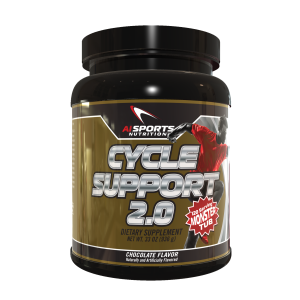 AI Sports Nutrition Cycle Support 2.0 Chocolate 120 Servings