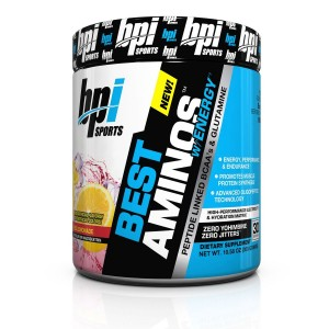 BPI Sports Best Aminos With Energy Red Lemonade