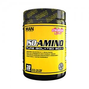 MAN Sports Iso-Aminos Strawberry Kiwi 30sv