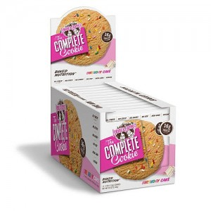 Lenny And Larrys protein Cookie 4oz - 12 pack Birthday Cake